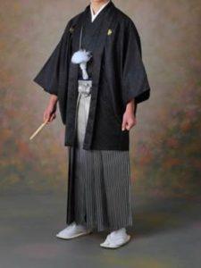 男性 黒の袴