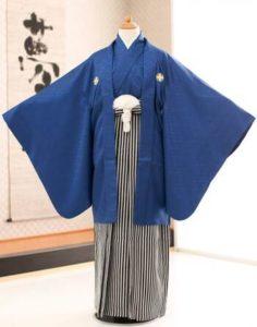 ネイビーの袴 メンズ