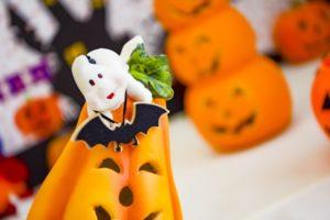 ハロウィン かぼちゃ おばけ クレイアート