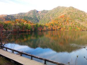 日光 湯ノ湖 紅葉