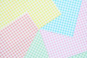チェック柄の折り紙