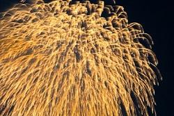 超巨大な打ち上げ花火