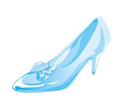シンデレラ 靴 イラスト