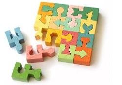 木のパズル 知育
