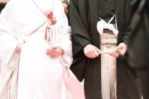 和装結婚式 新郎新婦