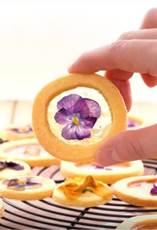 エディブルフラワー クッキー