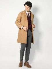 男性 コート コーデ