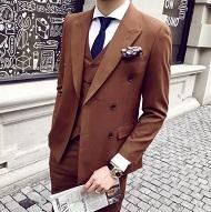 ブラウンスーツ 冬