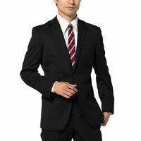 男性 ビジネススーツ 黒