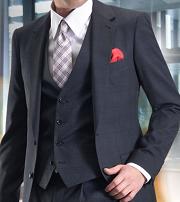 60代男性 フォーマルベストスーツ