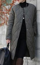 キルティングコート 女性