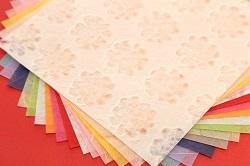 カラフルの和風の折り紙