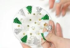手作り クリスマスコースター