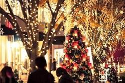 クリスマス 街のイルミネーション