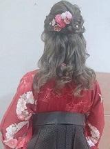 髪飾り 小花
