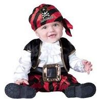 赤ちゃん 海賊