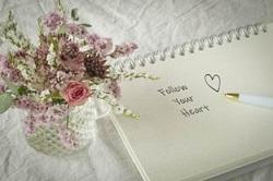 メッセージ 花
