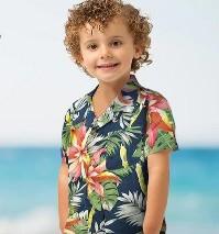 男の子 アロハシャツ