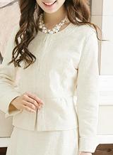 スーツ 女性 白