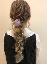 小花 髪飾り