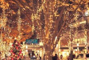 クリスマス イルミネーション 街