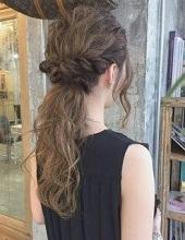 くるりんぱ 髪の毛