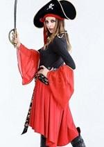 女性 ハロウィン 海賊衣装