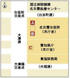 名古屋まつり 観覧席 地図