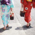 女性浴衣着付け方!【旅館温泉花火祭】簡単な着方と帯の結び方。