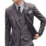 結婚式 男性 服装 グレーのスーツ