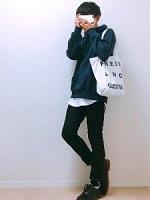中学生男子 服装