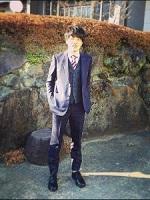 ネイビーカラー スーツ