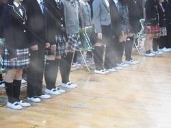 中学生 卒業式