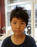 ワックス 毛先を立たせる 男の子 髪型