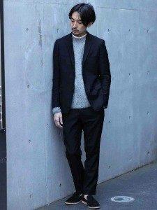 男性 ファッション 黒コーデ