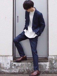 男性 ファッション ジャケットコーデ