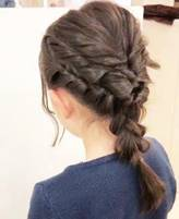 髪の毛 ロング