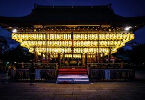 八坂神社 ライトアップ