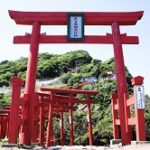 元乃隅稲成神社の所要時間や駐車場は?御朱印や賽銭箱は?
