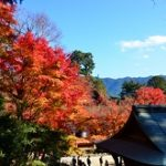 談山神社の紅葉2019の見頃時期!混雑やアクセスは?ランチは?