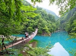 寸又峡 自然 景色