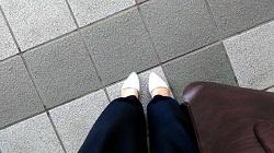 ワイドパンツ 靴 選び方
