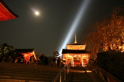 ライトアップ 京都