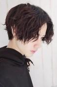 髪の毛 前髪