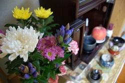 仏壇 供花