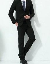 新郎 ブラックスーツ