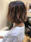 髪の毛 カラー