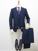 ネイビー スーツ 男性