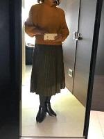 ニット スカート