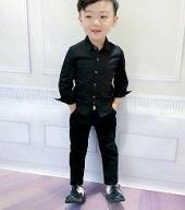 男の子 黒 服装